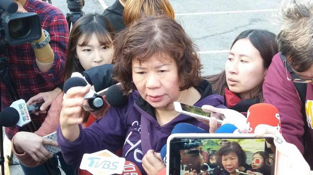 彭女的母親轉述當時經過。記者陳雕文/攝影