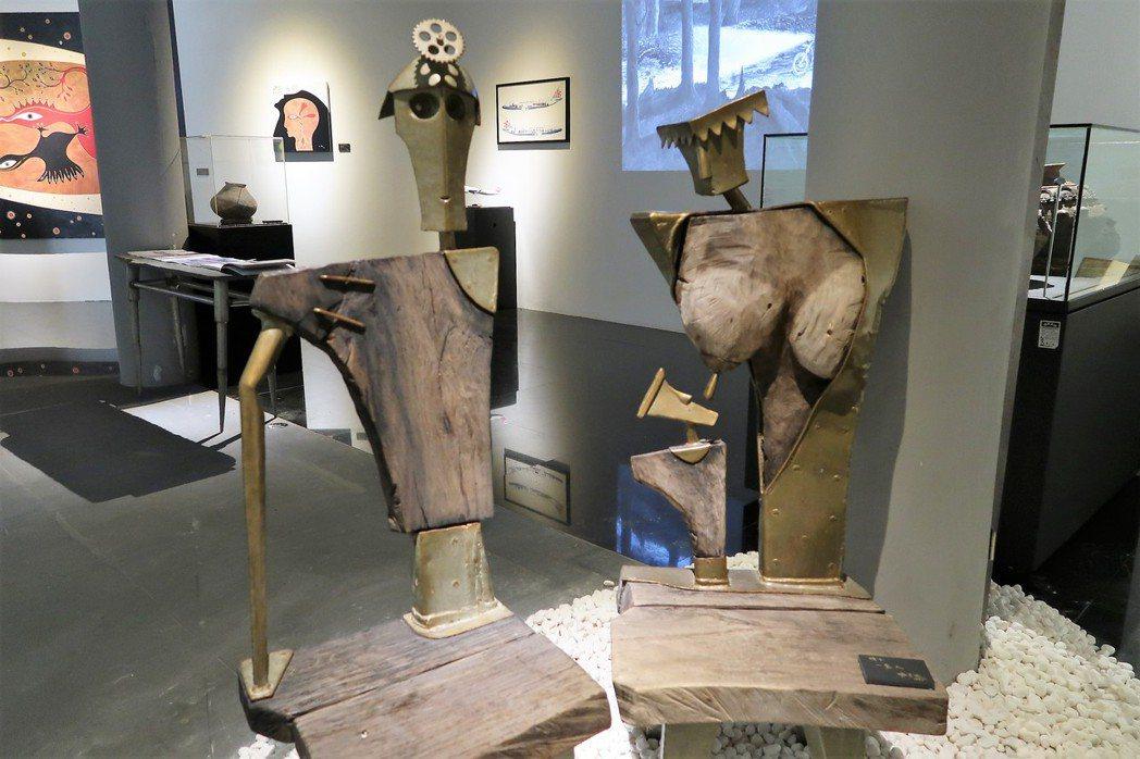 圖為撒古流的家具作品。記者翁禎霞/攝影