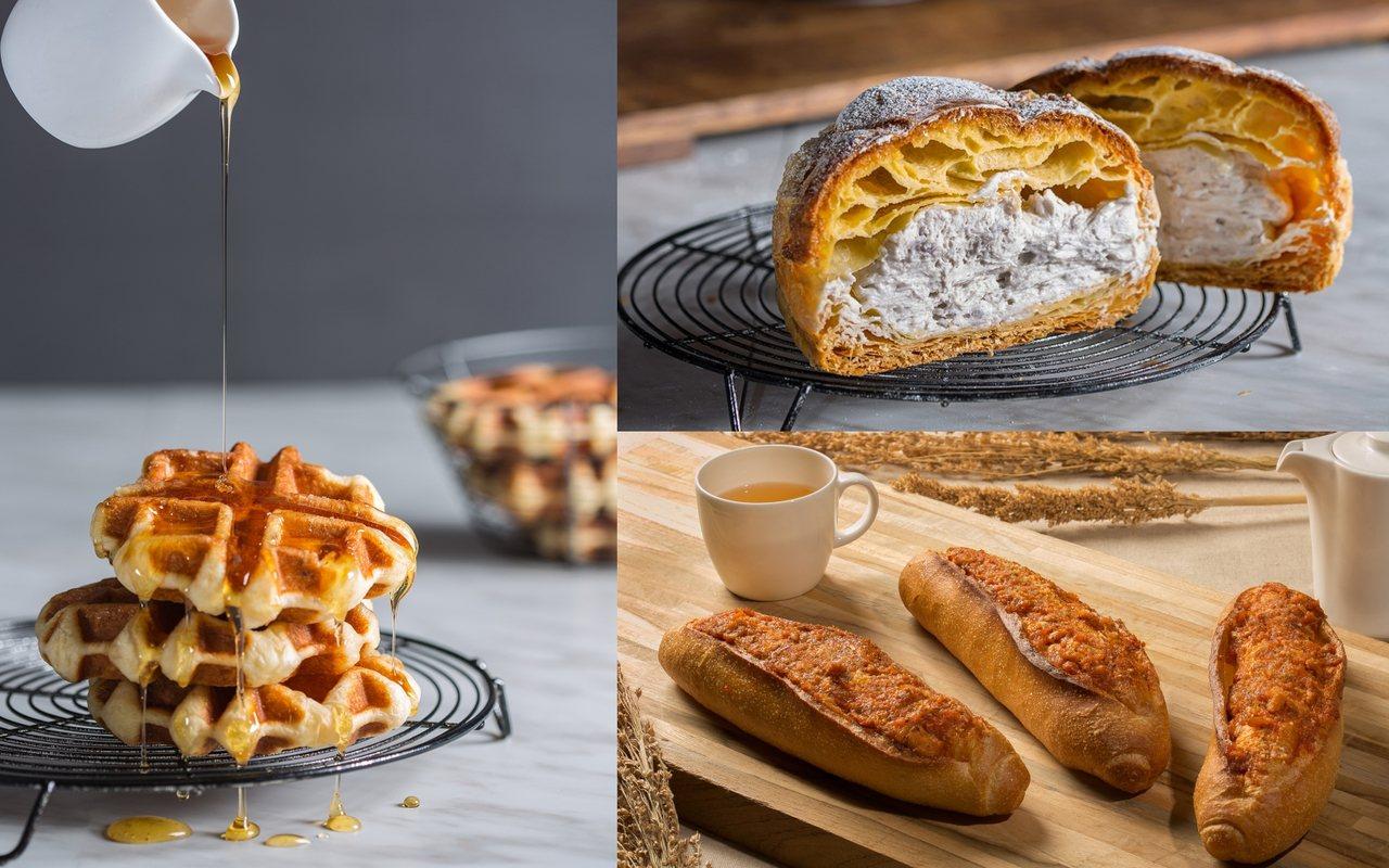 林口國賓麵包房Corner Bakery63推出周三品牌日85折、熱銷榜麵包9折...
