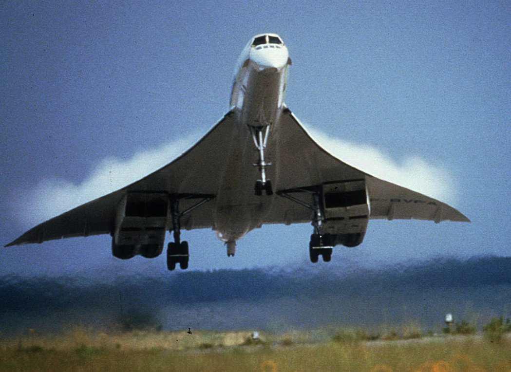 英國航空協和式客機。路透