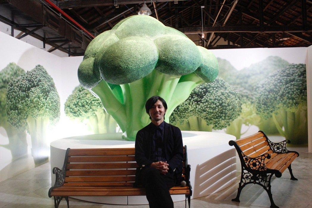 微型平面攝影師田中達也,邀大家一起來逛逛「花椰菜之森」。圖/寬宏提供