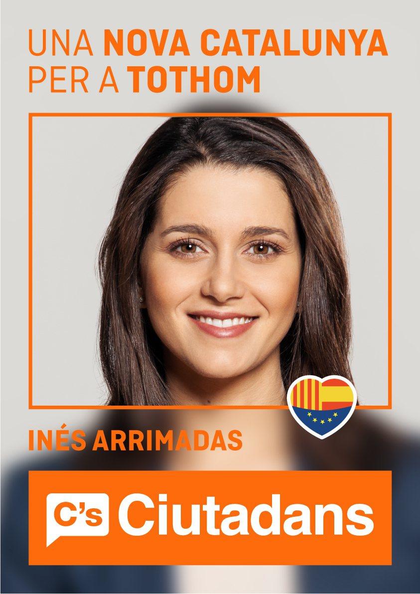 阿利瑪達思競選宣傳照。Ciudadanos