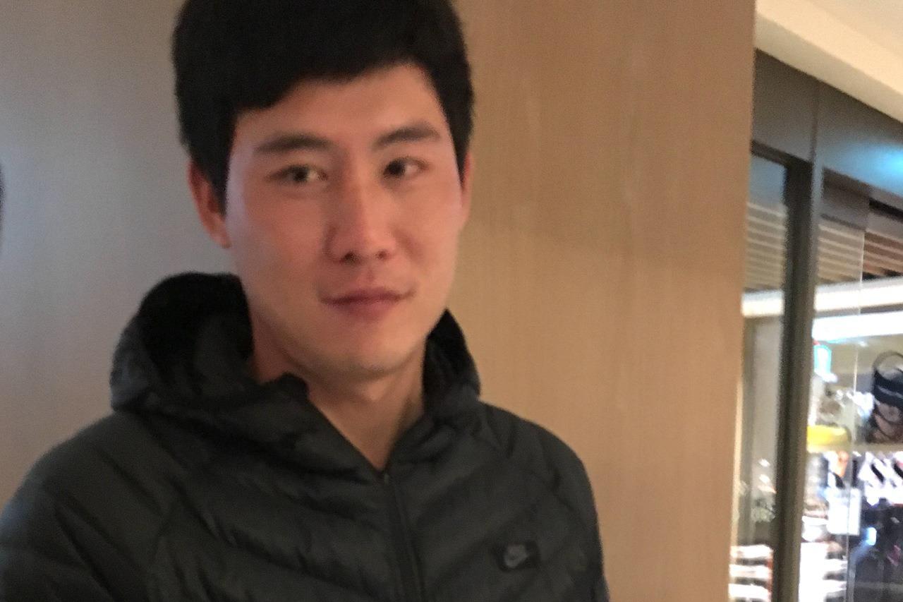 前中信兄弟隊投手林煜清。記者葉姵妤/攝影