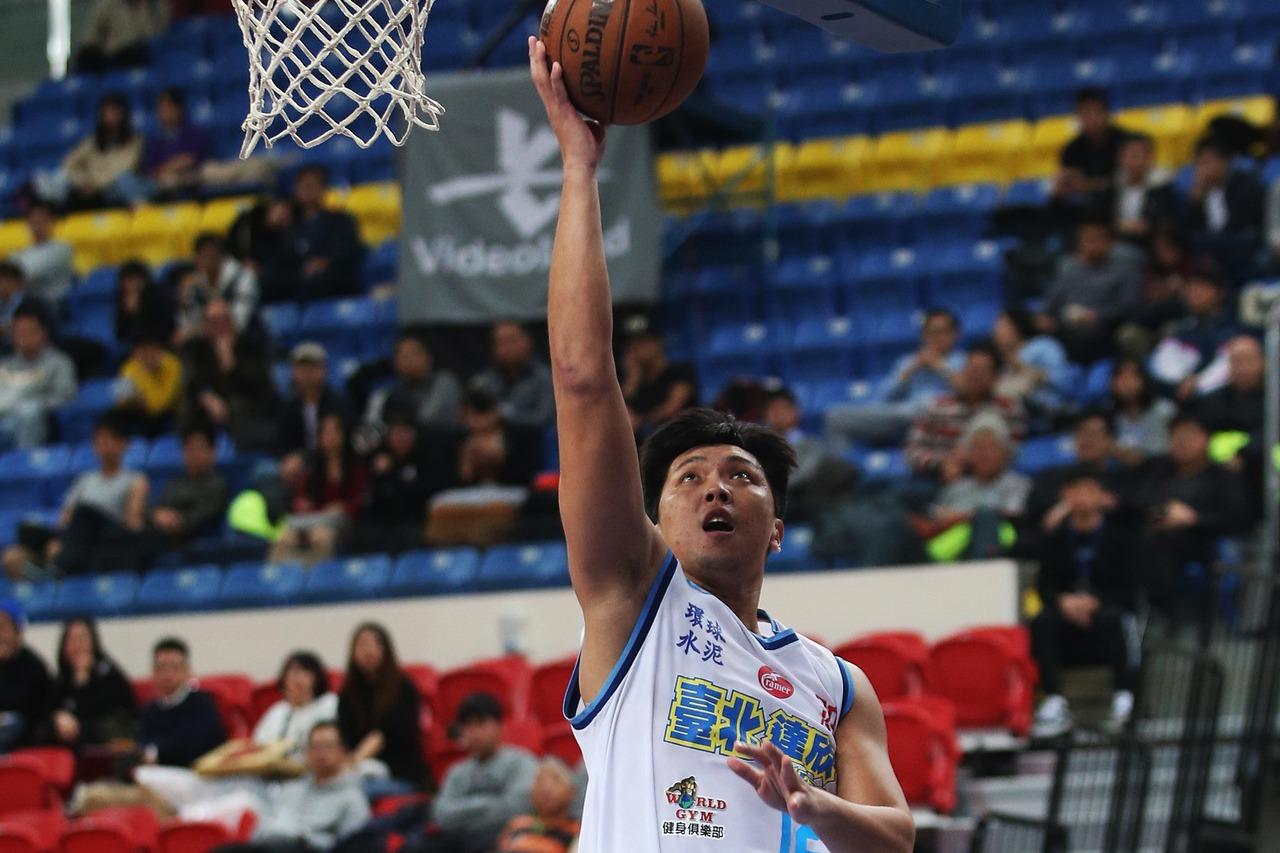 達欣林宜輝轟下22分,順利替達欣止敗。 圖/中華籃球協會提供