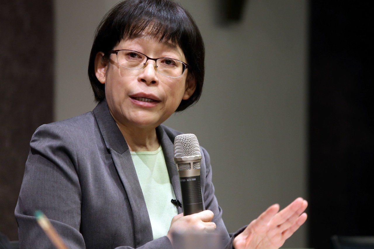台大校長候選人中研院副院長周美吟成為首位過關的候選人。記者林俊良/攝影