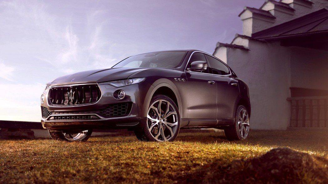 Levante為Maserati車系首部SUV。 摘自Maserati
