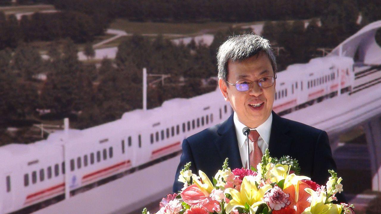 「涂市長不是譁眾取寵的人,實在做事」副總統陳建仁說,鐵高計畫納入「前瞻基礎建設特...