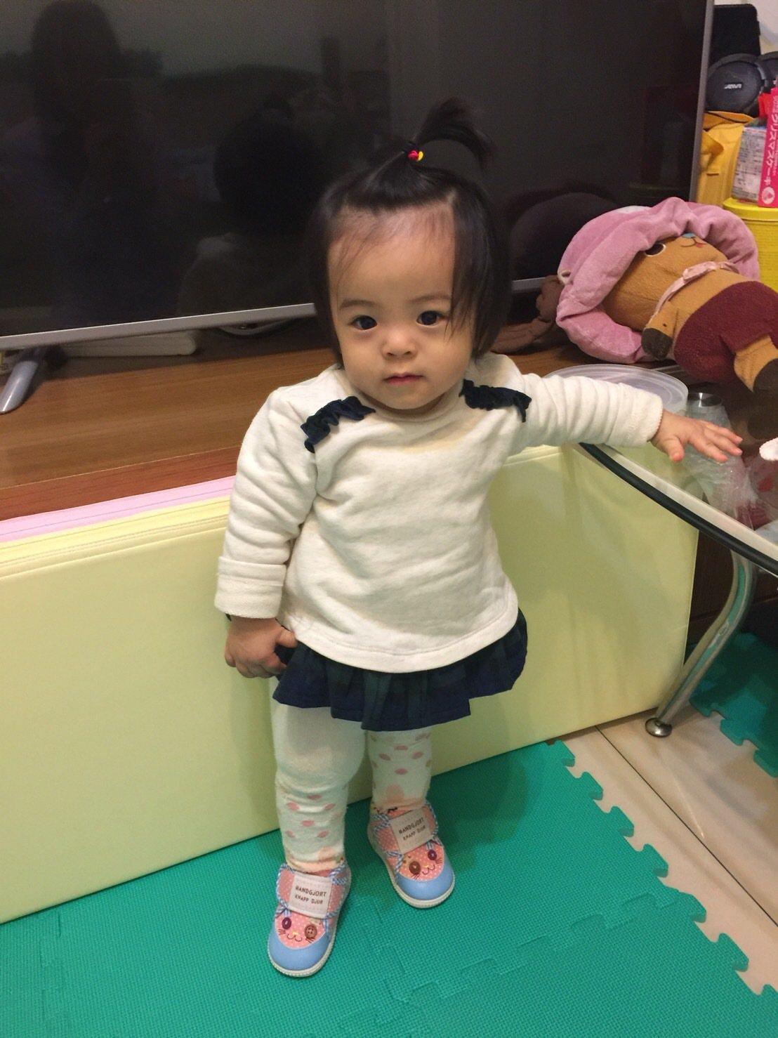 娜娜現已1歲,活潑可愛。