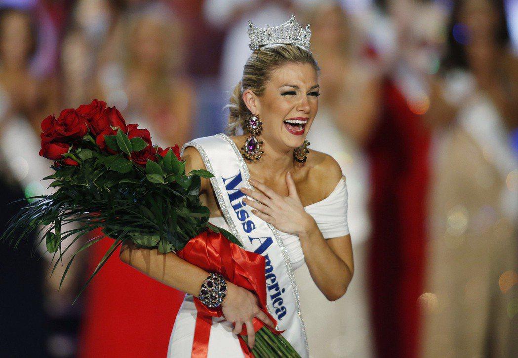 瑪洛莉.哈根2013年贏得美國小姐后冠。美聯社