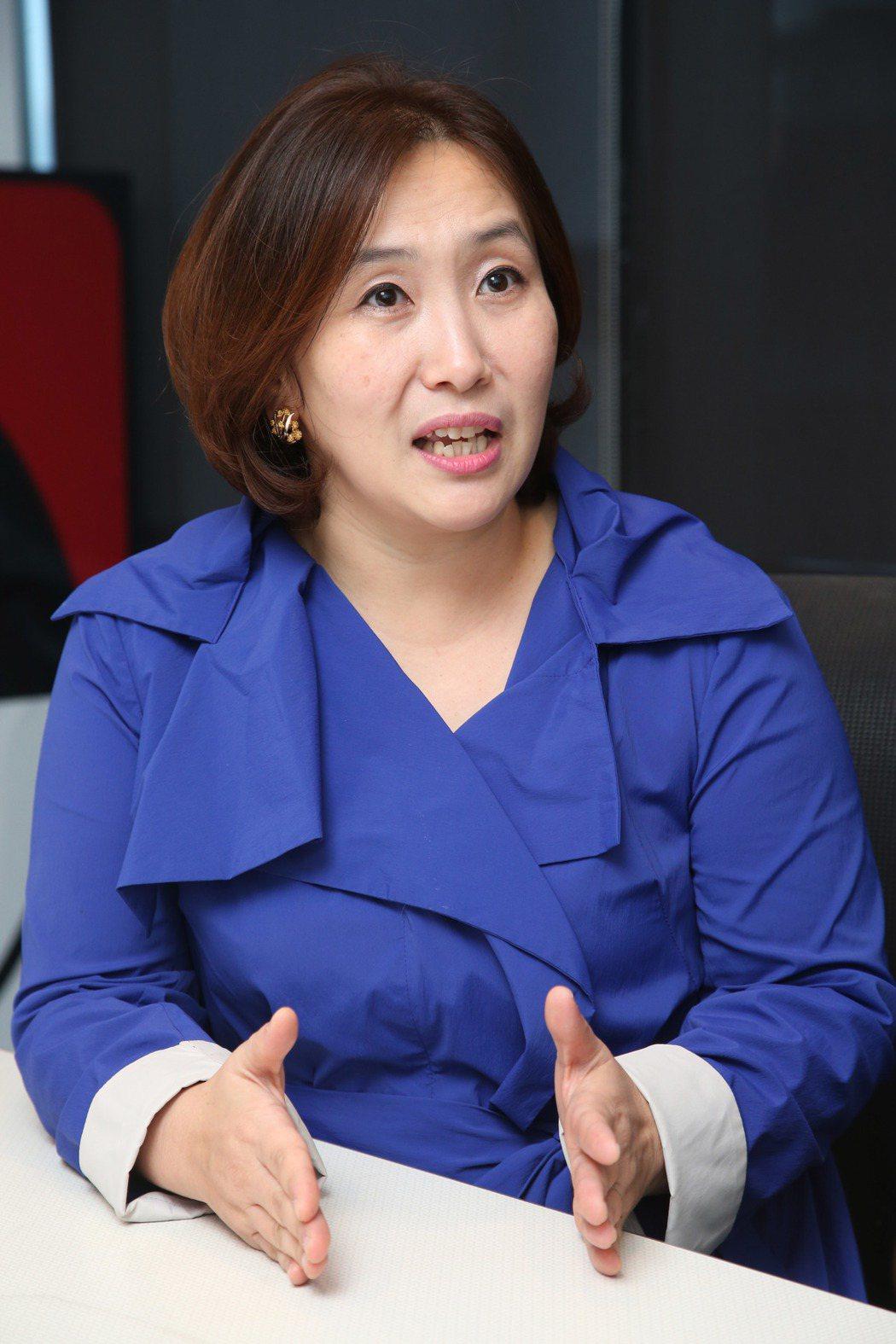 李美英院長讚美台灣孩子資質佳。記者陳瑞源/攝影