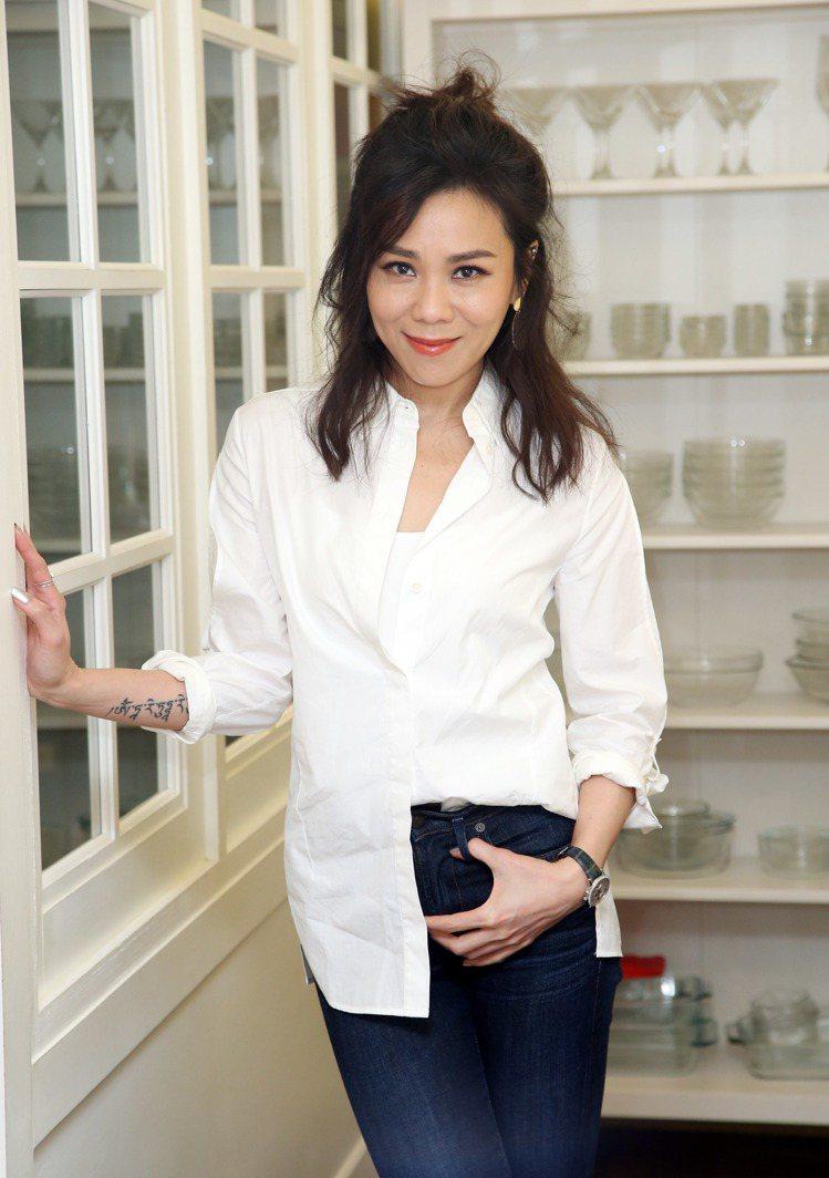 蔡健雅找到了愛自己的方法。記者陳瑞源/攝影