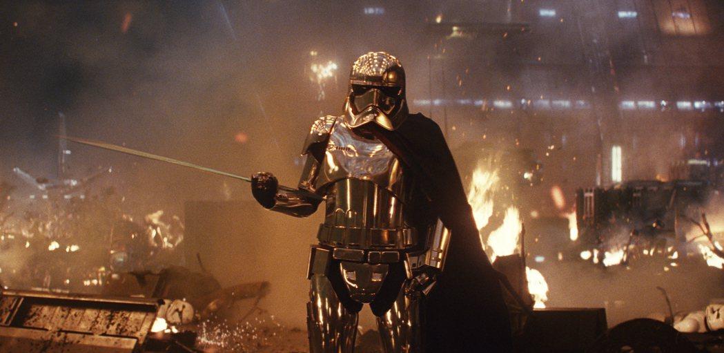 「Star Wars:最後的絕地武士」可望穩坐美國耶誕檔票房冠軍。(美聯社)