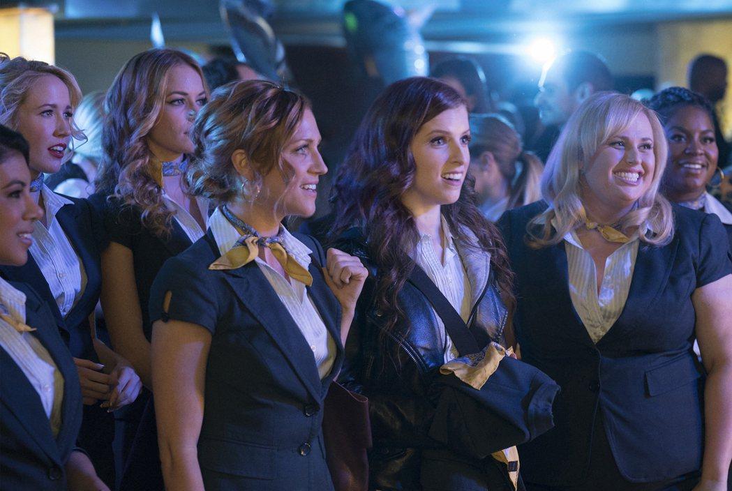 「歌喉讚3」吸引不少年輕女性捧場。(美聯社)