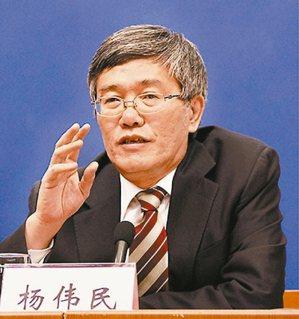中共中央財經領導小組辦公室副主任楊偉民 (文匯報)