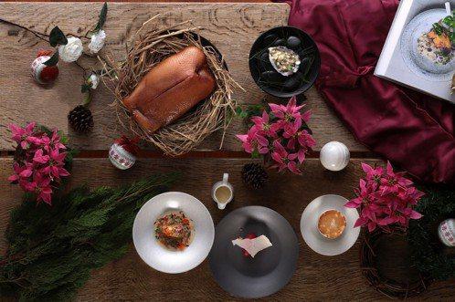 S Hotel HYG北歐美饌餐廳聖誕節套餐。