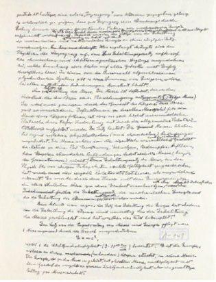 愛因斯坦E = mc2手稿。 希伯來大學愛因斯坦檔案室/提供