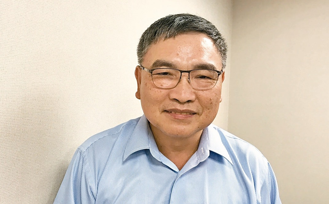 凌陽集團董事長黃洲杰。 記者張家瑋/攝影