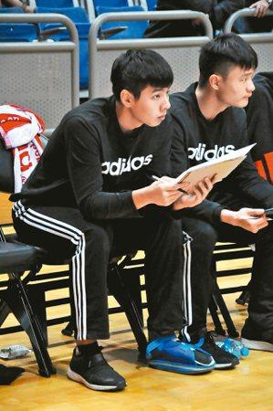 宜蘭高中林佑澄(左)。 圖/聯合報系資料照片