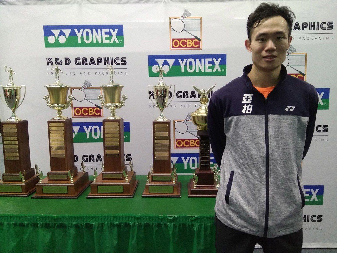 呂家弘參加美國羽球國際挑戰賽,期許這次來美國,可以拿今年度首個國際冠軍。 中央社
