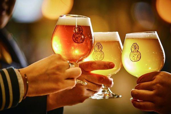 臺虎精釀啜飲室希望大家細細品味啤酒的甘醇好滋味。(攝影/梁忠賢)