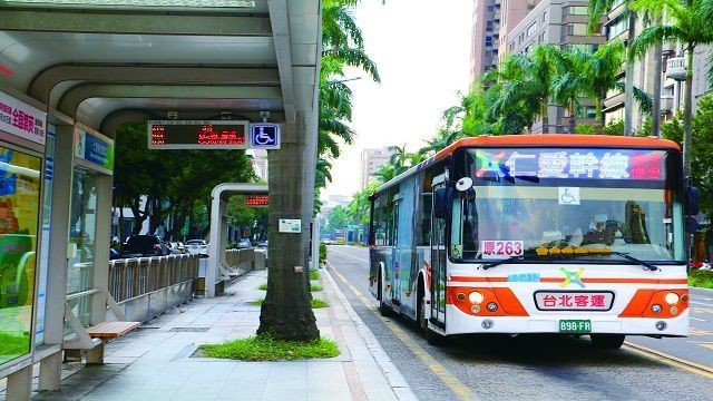 5條「類捷運」幹線公車上路,交通路網更暢通。(圖╱台北市公共運輸處提供)