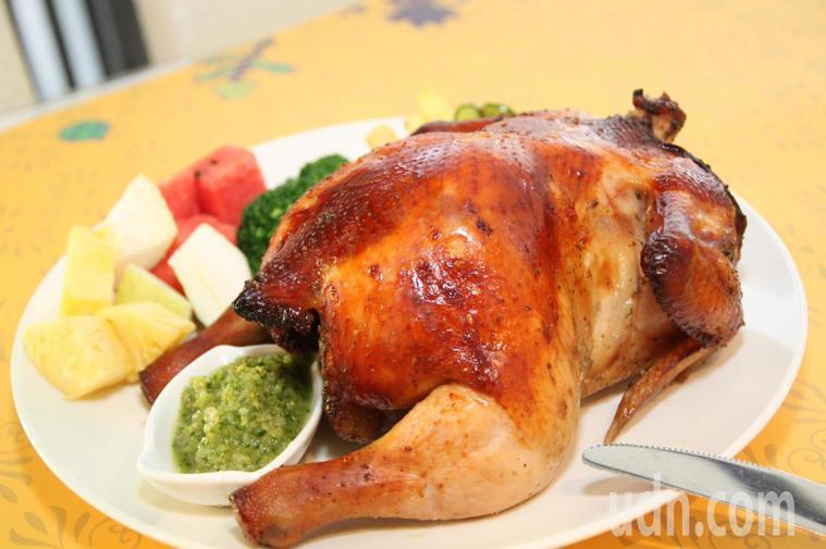 烤雞。記者黃寅/攝影