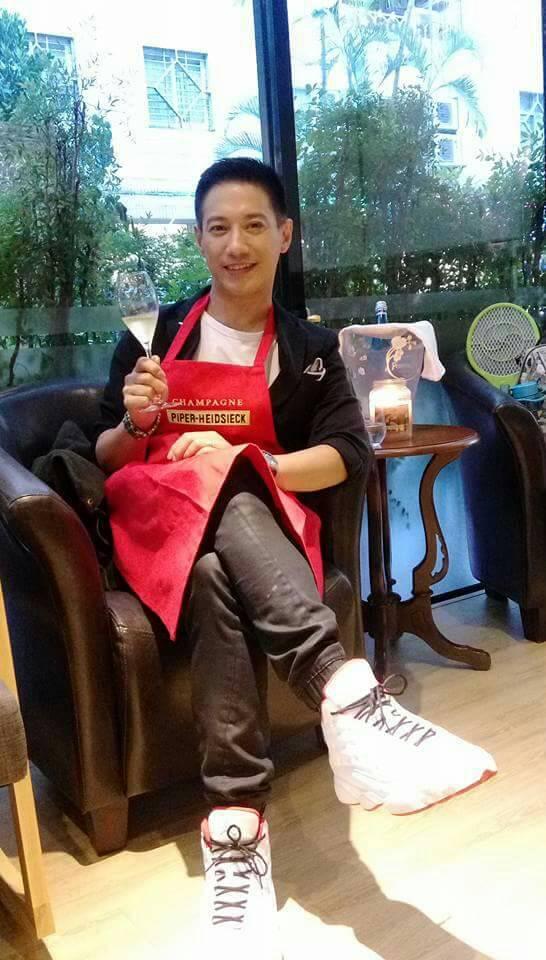 李信恩興趣廣泛,最近還開了一家餐廳當老闆。圖/金熙提供
