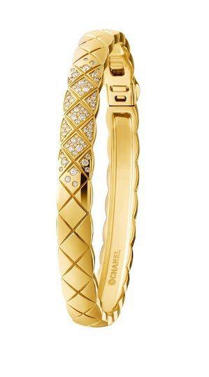 COCO CRUSH 手環,18K黃金鑲嵌81顆明亮式切割鑽石,30萬1,000...