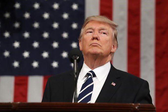美國總統川普。路透