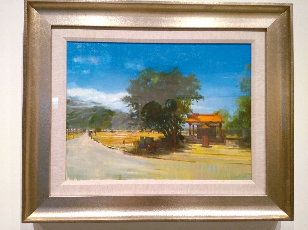 池上穀倉藝術館開館首展,由池上藝術村所邀請的駐村藝術家提供作品進行展覽。 圖/何...