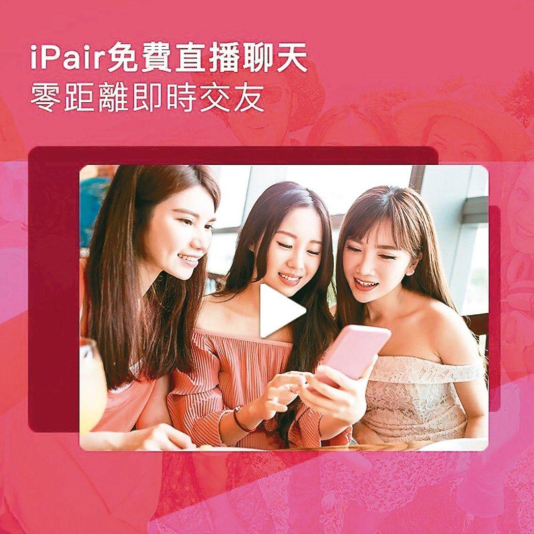 iPair交友直播App 網路照片
