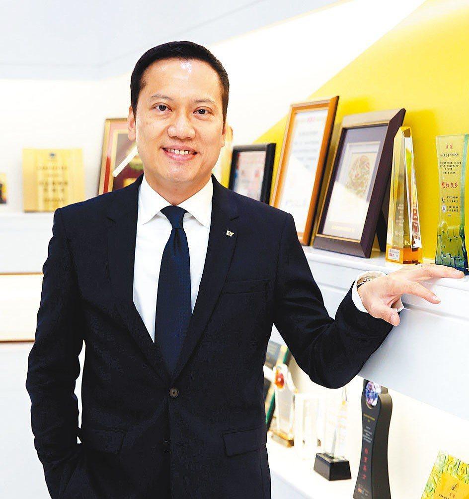 安永聯合會計師事務所執行長傅文芳