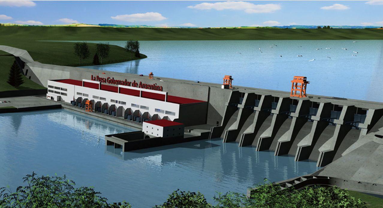 停工兩年後,中阿恢復施工最南端水電站。