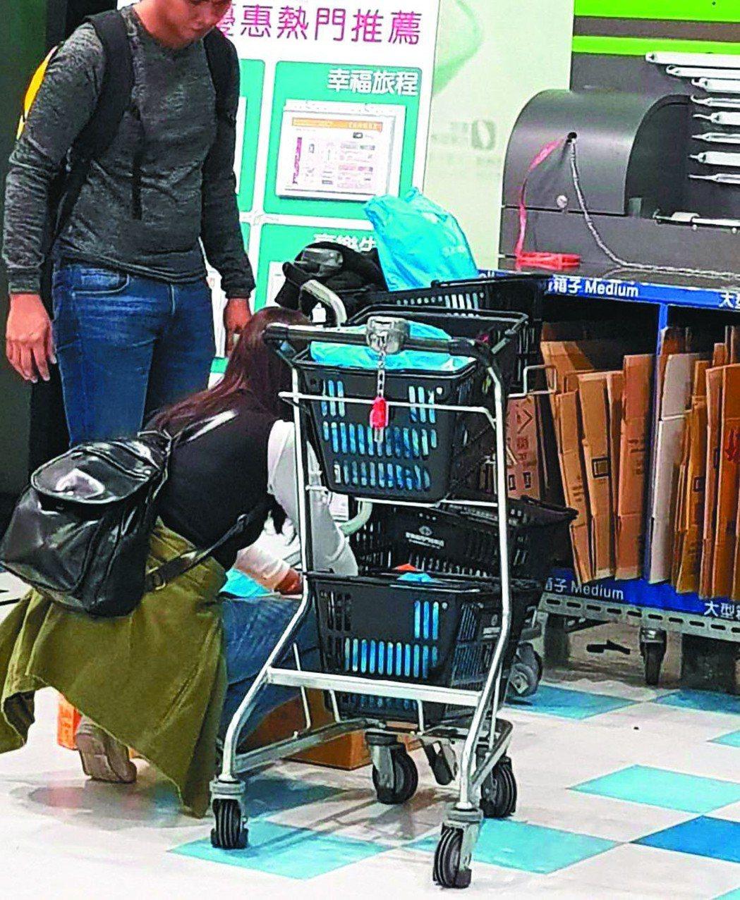 消費者去大賣場購物,建議可多利用紙箱。 圖╱聯合報系資料照片