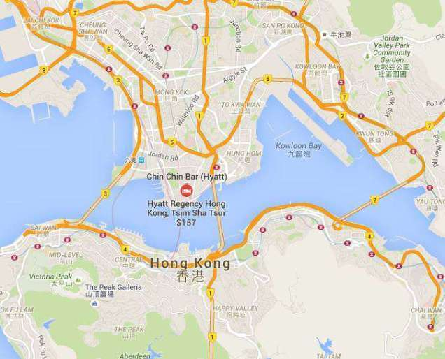 酒店為於九龍半島,附近有尖東站,步行可到維多利亞港,地理位置相當方便。圖文來自於...