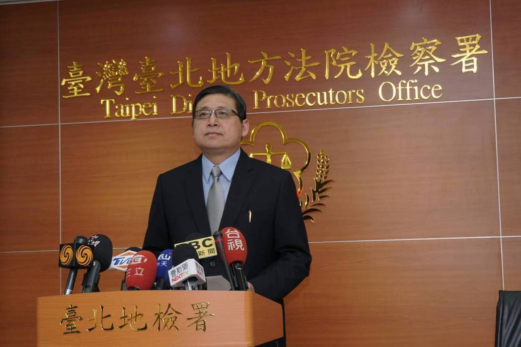 台北地襄閱主任檢察官周士榆。圖為本月13日周針對馬英九控告檢方洩密一案提出說明。...