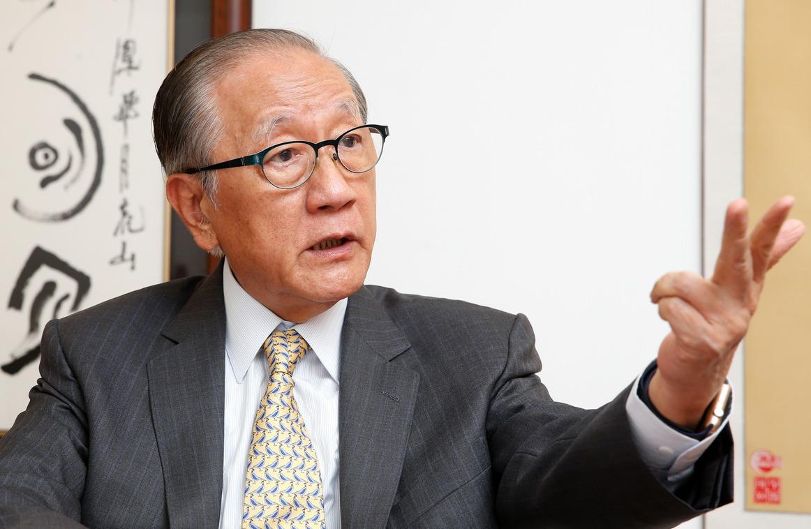 新黨主席郁慕明。 圖/聯合報系資料照片