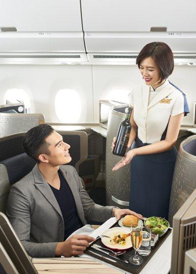 中華航空表示,美國知名旅遊雜誌《環旅世界》 (Global Traveler) ...