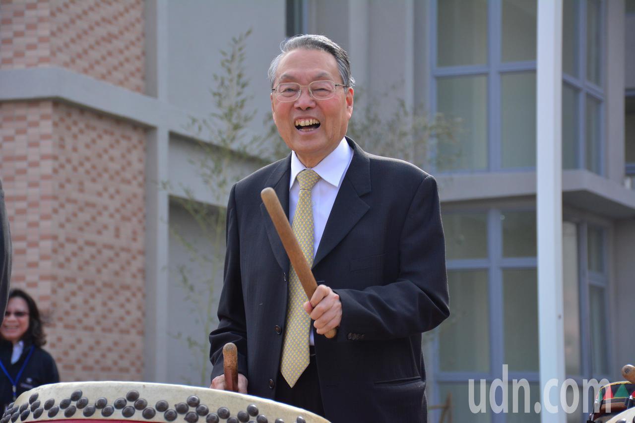 宏基創辦人施振榮表示,台南在先進產業氣勢上已後來居上超越新竹。記者吳淑玲/攝影
