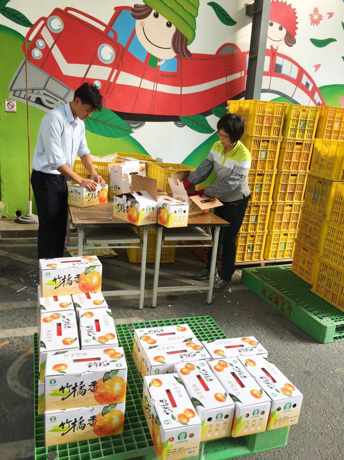 中油賣起嘉義柑橘。圖/中油提供。