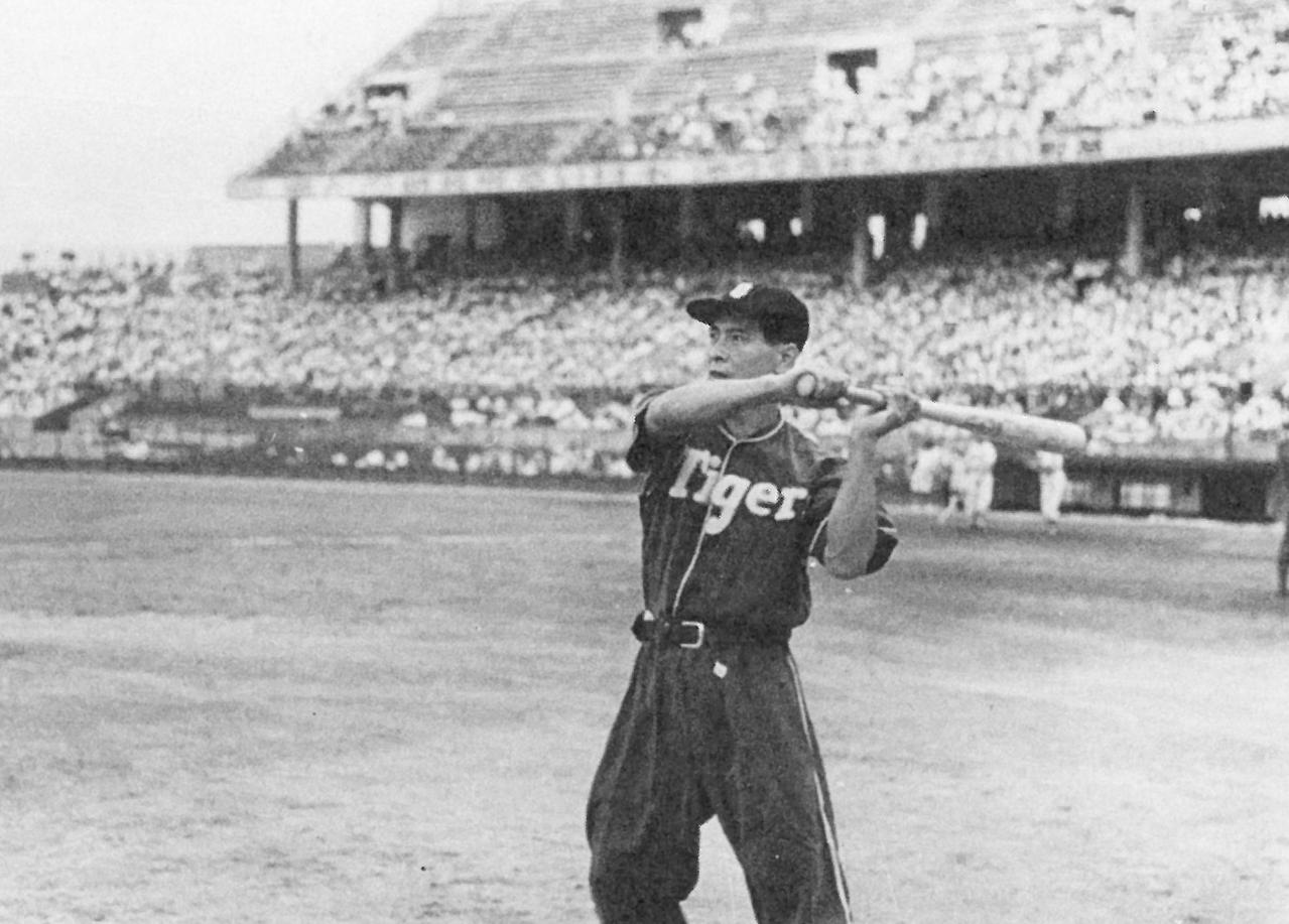 「人間機關車」吳昌征是日治時期嘉農棒球隊第2代球員。圖/台灣棒球名人堂提供