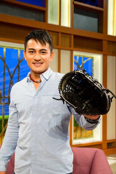 林子偉希望身體健康,盡情享受每一場球賽,用感恩的心打球。圖/GOOD TV提供