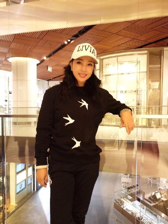 大陸資深女星劉曉慶今年已經63歲。圖/摘自微博
