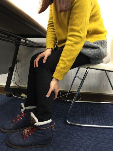 腳腫示意圖/聯合報系資料照 記者黃安琪/攝影