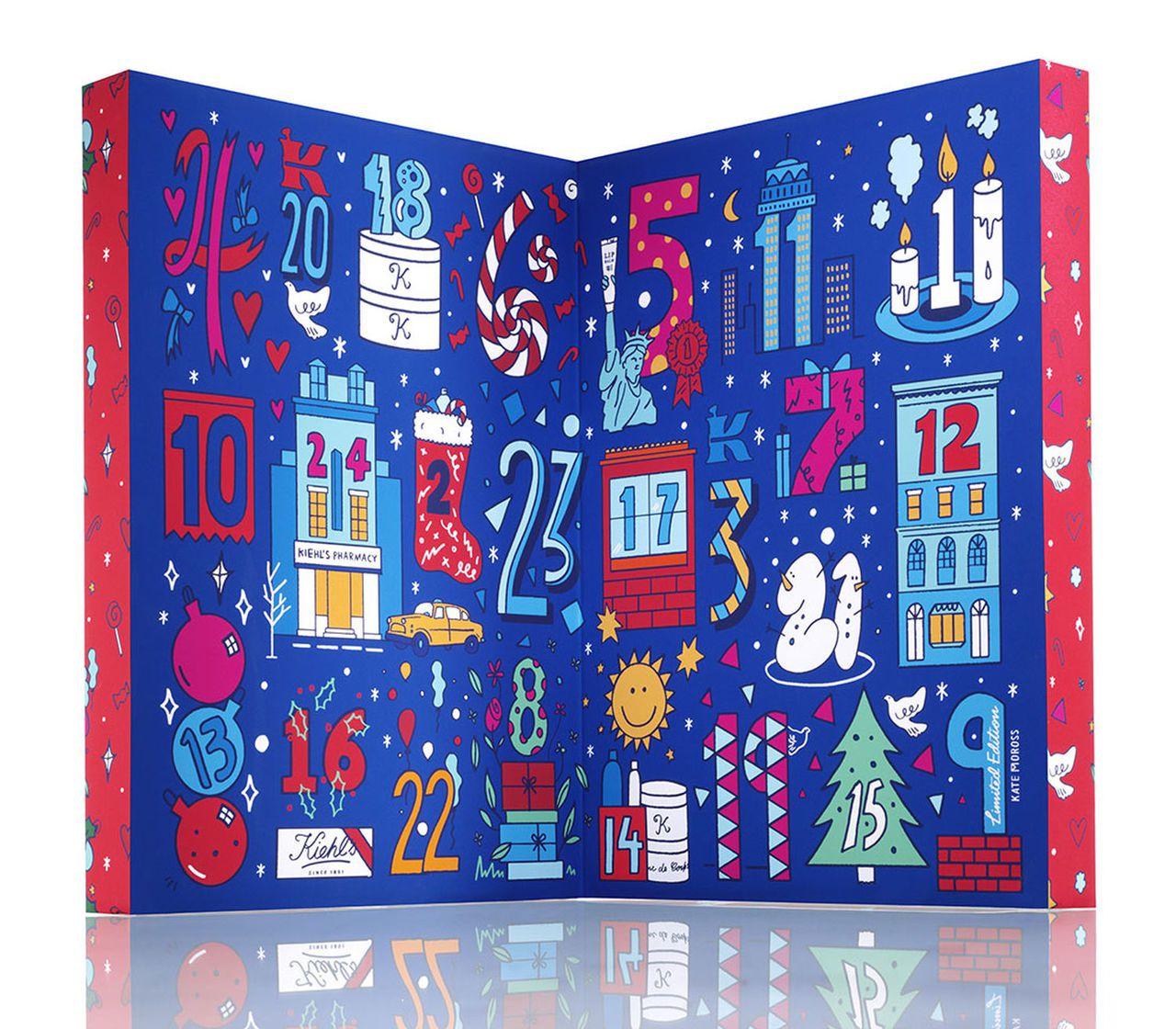 今年度耶誕倒數月曆大豐收,有百花齊放的盛況。圖/Kiehl's提供