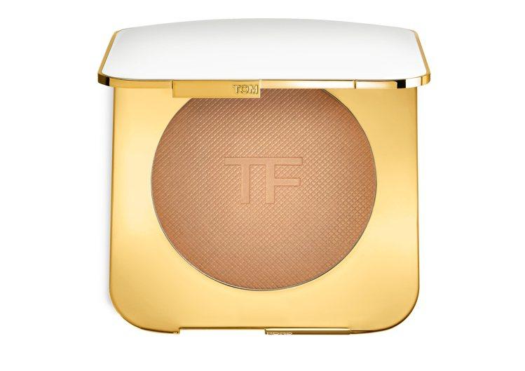 Tom Ford也在今年登台設櫃。全新太陽輕吻修容餅3,600元。圖/Tom F...