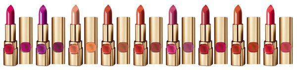 巴黎萊雅純色訂製唇膏玫瑰風暴系列推出9色玫瑰色調。圖/巴黎萊雅提供