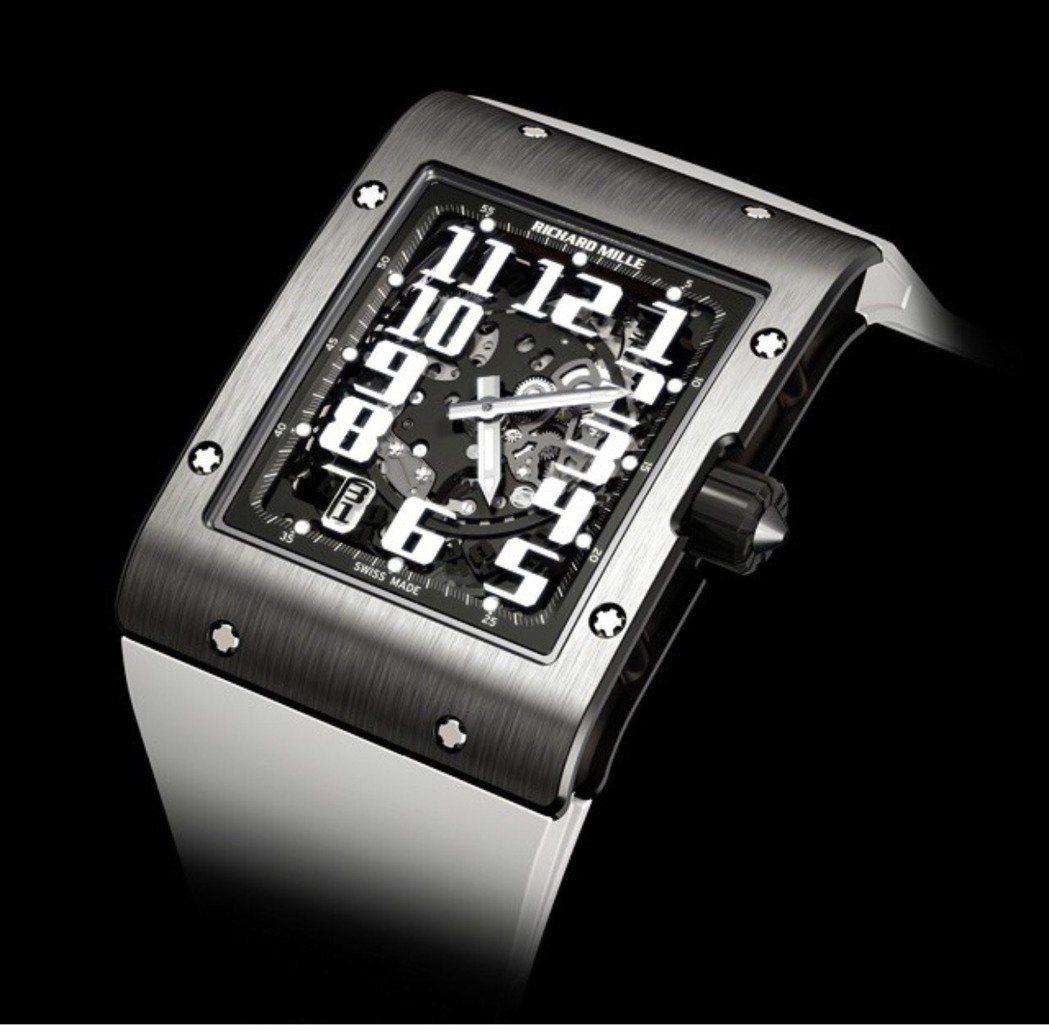 RICHARD MILLE RM016腕表,鈦金屬表殼,搭載RM005-S自動上...