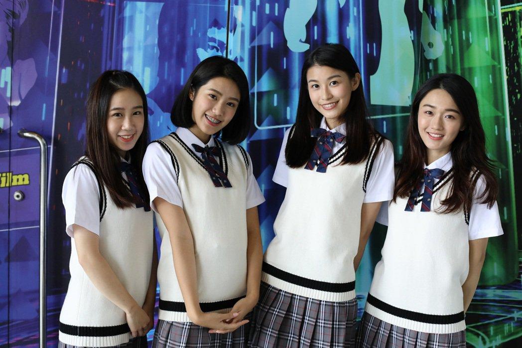(左至右)于忻文Amanda、亭蘭Tina、孫睿Fion、林妤涵Una是南拳媽媽...