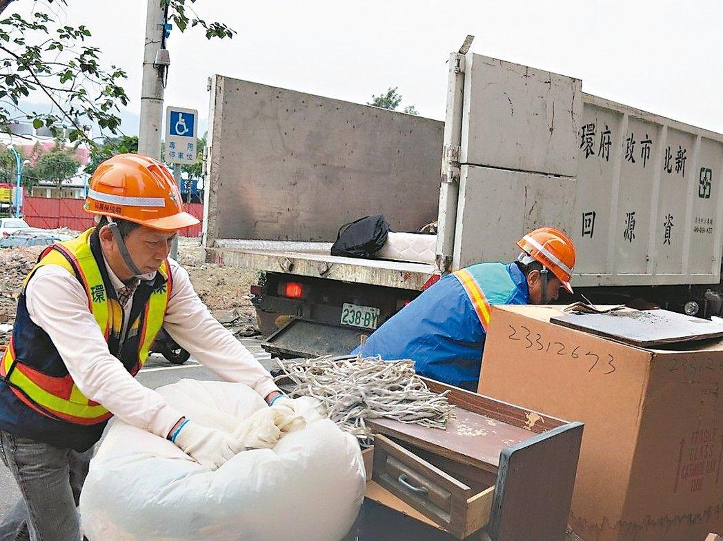 環保署擴大限塑,新北市環保局表示,限塑精神是「不主動、不低價、不免費提供」。 圖...